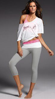 Women's Yoga Clothes: Fleece, Terry & Velour Loungewear at Victoria's Secret