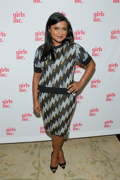 Fabulously Spotted: Mindy Kaling Wearing Kenzo - Girls Inc. Los Angeles Celebration Luncheon - http://www.becauseiamfabulous.com/2013/11/mindy-kaling-wearing-kenzo-girls-inc-los-angeles-celebration-luncheon/