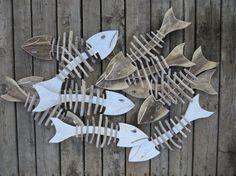 Bonefish Reclaimed Wood & Driftwood Beachy by AlteredNature, $21.00