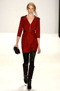 love everything about this & actually wearable // Rebecca Minkoff Fall 2012