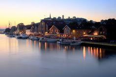 Muelle en Tonsberg, noruega !