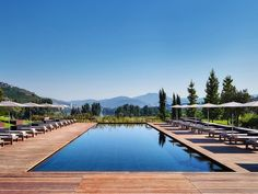 Set on the terraced slopes of one of the world's oldest wine regions, Six Senses Douro Valley recasts a 19th-century manor house with unexpectedly modern and colorful flair—making it much more than a place to sleep off one too many glasses of vinho (and they've got that in spades—see the resort's comprehensive wine cellar, or the by-the-glass machine at the bar). It's hard to one-up the offer of wine on tap, but the spa is certainly in the running: The complex has everything, from…
