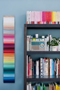 Caroline Gomez, Pastels and Colors in Bordeaux House, Color chart in office