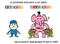 Economía para niños. #Humor #Economía