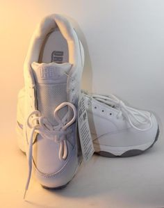 NEW Mens Leather White Drew Shoes Player Double Depth Diabetic 8 4W EEEE Wide #Drew #Walking