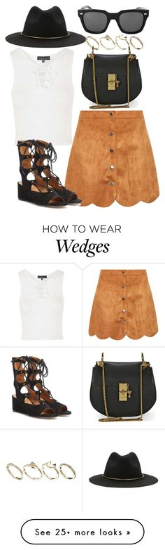 """""""set."""" by vintagecoutures on Polyvore featuring First & I, Topshop, Forever…"""