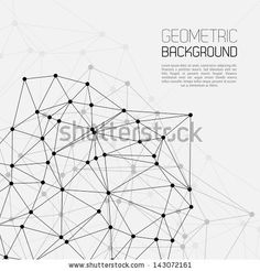 Molecule And Communication Background by Godruma, via ShutterStock