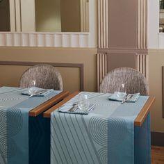 Le Jacquard Francais Table Runner in Gatsby