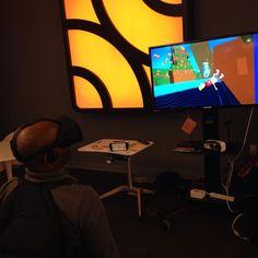 Presenting #SwingStarVR at #appnexus #oculus #cv1 #vrgame #virtualreality #vr #indiedev by computerlunchgames - Shop VR at VirtualRealityDen.com