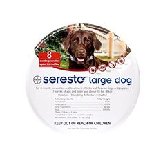 Bayer Seresto Flea and Tick Collar, Large Dog, 2-Pack >>> You can get more details by clicking on the image.