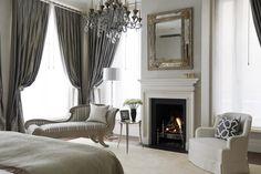 Louise Jones Interiors   A House in South Kensington! Interior design ideas Luxury interior design Modern bedroom design #Homedecorideas #decorationideas #moderninteriordesign See more in: https://www.brabbu.com/en/inspiration-and-ideas/