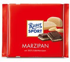 RITTER SPORT #Marzipan #Schokolade