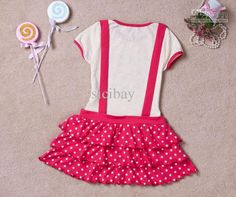 Wholesale Stylish Dress Little Girl Lovely Dresses Summer Star Knot Design Dress K0380, Free shipping, $12.18-15.57/Piece | DHgate