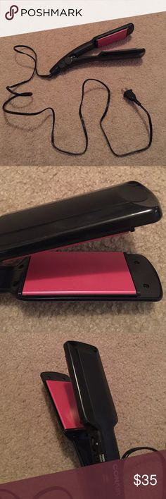 Conair Hair Straightener Brand new without box or tags. Thought I was going to use, but didnt end up needing it because I found my old hair straightener. Its full size with wider ceramic plates to straighten your hair faster. Forever 21 Accessories Hair Accessories
