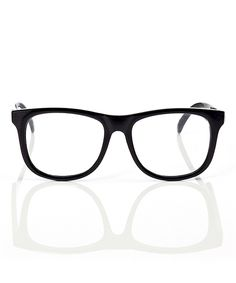 Another great find on #zulily! Mustachifier Black Clear Optical Baby Glasses by Mustachifier #zulilyfinds