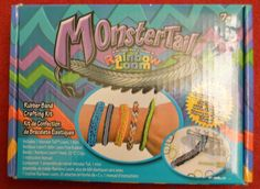 NEW NEVER BEEN OPENED Rainbow loom monster tail .rubber band crafting kit Free S #MonstertailRainbowLoom