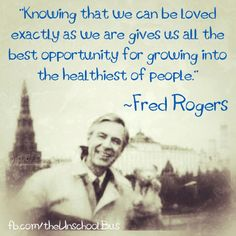 I truly believe that Mr. Rogers changed my life. He was a huge part of my childhood....