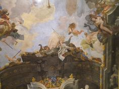 Allegoria delle Arti. Tiepolo a Palazzo Clerici www.waamtours.com