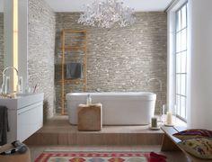 Wie gemauert: Wandpaneele von Oldstones