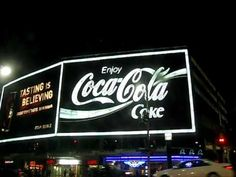 The colossal Coca Cola billboard on the corner of William and Darlinghurst, in Kings Cross, is possibly the biggest billboard in the southern hemisphere.