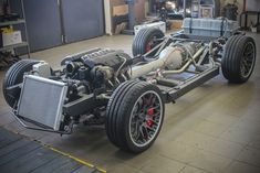 Corvette rolling chassis and powertrain ready to be installed under a Corvette Corvette 2005, Old Corvette, Chevrolet Corvette, Ls Engine, Engine Swap, Chevy Vehicles, Ls Swap, Car Memes, Vintage Air
