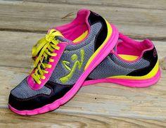 Incoming Shameless Plug: Fabulous OOAK Custom Zumba dance shoes Z1 sneakers EUC womens size 8
