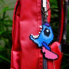 Stitch perler beads - DIY and Crafts Perler Bead Designs, Perler Bead Templates, Hama Beads Design, Perler Bead Disney, Diy Perler Beads, Perler Bead Art, Pearler Beads, Melty Bead Patterns, Pearler Bead Patterns