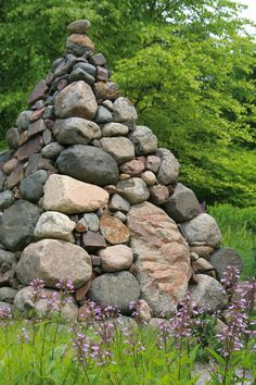 ... do something interesting with all of the rocks I harrow up in spring... and maybe I will.