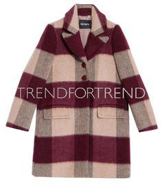 MAX&CO. | Fall/Winter 2016-17 | Giant-sized chequered coat | Are you a publishers ? Do you like to feature it ? Sign up at TrendForTrend.com to download it #clickandpublish
