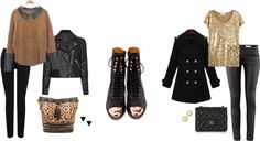 Day and night with Jeffrey Campbell's boots
