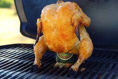 Kylling på dåse i ovn eller grill - opskrift med video
