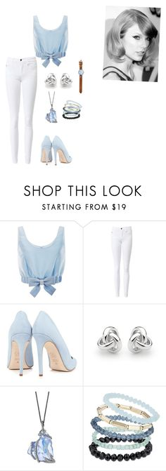 """""""I just want to look good for you"""" by meyou-ii ❤ liked on Polyvore featuring Honor, Dee Keller, Georgini and Topshop"""