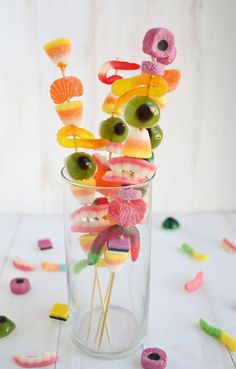 Monster candy sticks