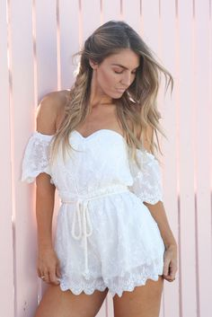 Orchid Lace Playsuit