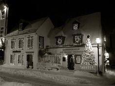 Aux Anciens Canadiens, restaurant