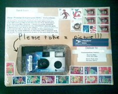 Someone mailed a camera asking the post office to take pictures along the way. It was entirely successful.