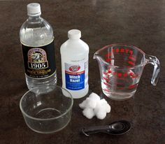 Homemade face cleaner and toner