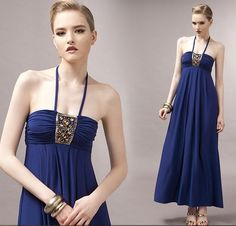 Sexy sleeveless long dress for holidays - Dresses