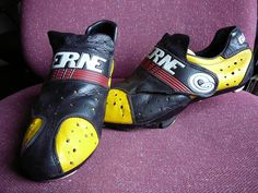 My Gaerne Cycling Shoes 1987