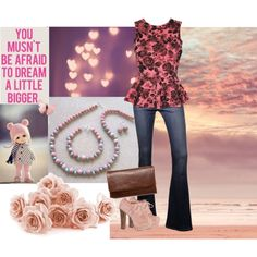 Designer Clothes, Shoes & Bags for Women Dream Big, Maybelline, Betsey Johnson, Studio, Polyvore, Pink, Stuff To Buy, Handmade