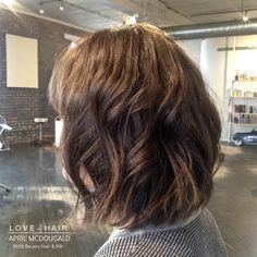 LOB, long Bob, short hair, curls, soft hair, haircut, great hair