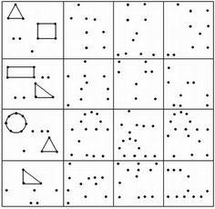 Monografias.com Coding For Kids, Math For Kids, Fun Activities For Kids, Preschool Activities, Visual Perceptual Activities, Geometry Activities, Preschool Math, Kindergarten Worksheets, Teaching Kids
