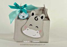 Hippo Box mit #Silhouette Cameo