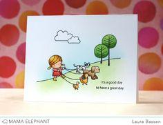 mama elephant | design blog: STAMP HIGHLIGHT: SUNDAY STROLL