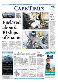 News making headlines:  Enslaved aboard10 ships of shame