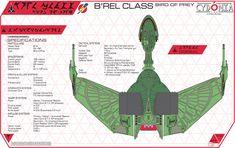Cydonia 6 Ink Blueprints - Klingon B'Rel Class Bird of Prey Star Trek Rpg, Star Trek Klingon, Star Trek Starships, Star Wars, Klingon Empire, Deep Space, Space Crafts, Birds Of Prey, Spaceships