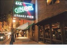 STEAK & SEAFOOD -- Gibson's on N. Rush St. in downtown Chicago