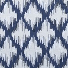 My Two Designers carries Clarke & Clarke wallpaper and fabric, including Laguna Fabric in Denim. Textile Pattern Design, Ikat Pattern, Textile Patterns, Pattern Art, Fabric Design, Print Patterns, Textiles, Designer Fabrics Online, Clarke And Clarke Fabric