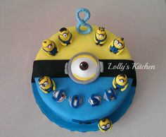 Minions! - Cake by LollysKitchen