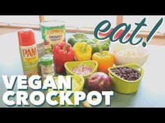 Vegan Crockpot Stuffed Peppers - Slowcooker Recipe - BEXLIFE - YouTube